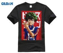 GILDAN  Unisex Boku No Hero T Shirt My Academia Tees T-Shirt Tshirt Harajuku Yoh Asakura Midoriya Izuku