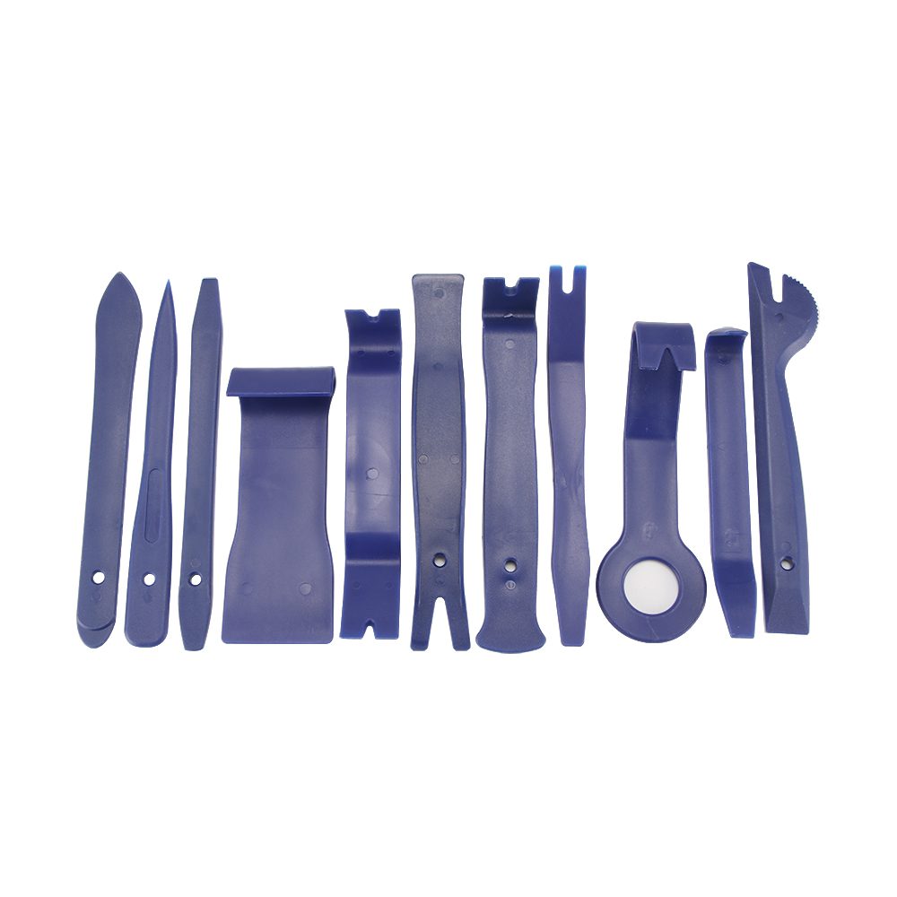 11 Pcs Car Panel Removal Tools Kit Disassembly DVD Stereo Refit Interior Plastic Trim Kit Dashboard Car Repair Combination Suit