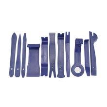 11 шт. инструменты для снятия панели автомобиля комплект разборки DVD для ремонта стерео аппаратуры внутренняя пластиковая отделка комплект приборной панели ремонт автомобиля комбинированный костюм