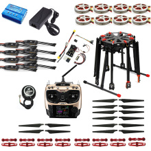 DIY Foldable GPS RC Racer Tarot X8 TL8X000 8-Axis Frame 350KV 40A PX4 32 Bits Flight Controller Radiolink AT9S TX&RX F11270-F