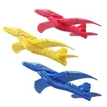 Outdoor Airplane Inertial Foam EPP Dinosaur Winged Dragon Animal Shape Plane Toy 48cm Hand Launch Throwing Aircraft
