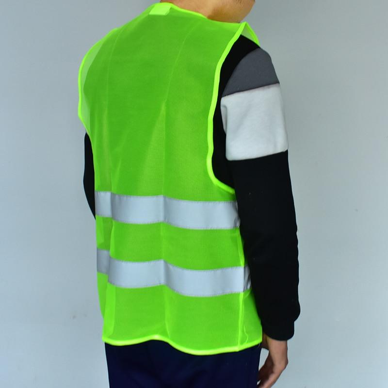 Motorist Hi Visibility Kit Family Pack 4 Vests 2 Child 2 Adult Vest EN Standards