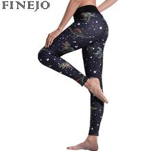 Dinosaur Printed Leggings fitness Sporting Leggings For Women Workout  Leggins Elastic Slim Black Pants New Arrival 5d5be121ef35