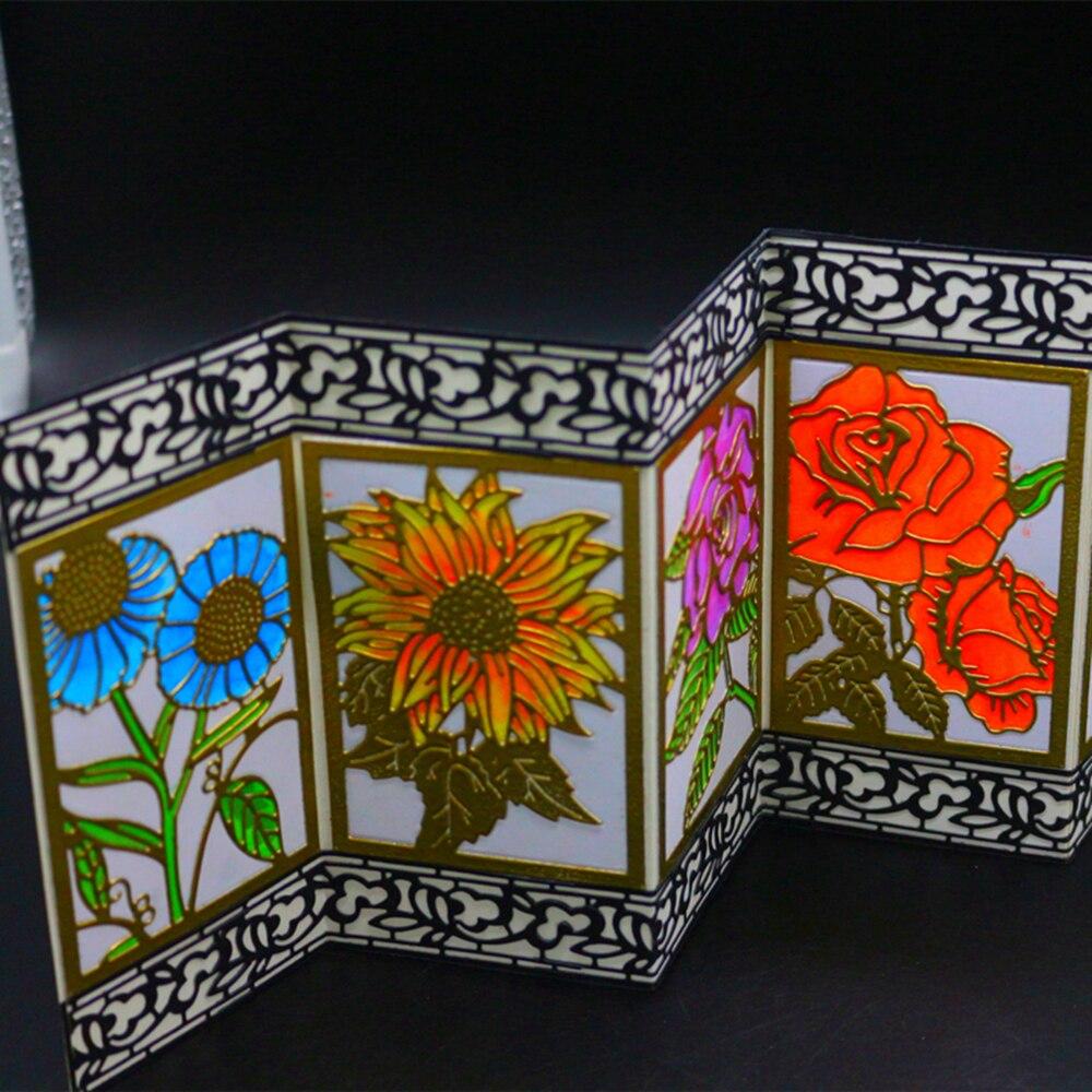 VCD63 Flowers CUT SCRAPBOOK Metal Cutting Dies For Scrapbooking Stencils DIY Album Cards Decoration Embossing Folder Die Cuts in Cutting Dies from Home Garden