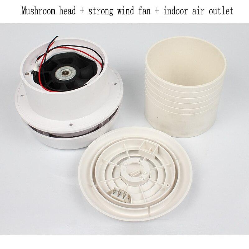 12V RV Strong Wind Mushroom Head Exhaust fan RV Caravan Car Motorhome Roof Vent Ventilation Cooling Exhaust Fan
