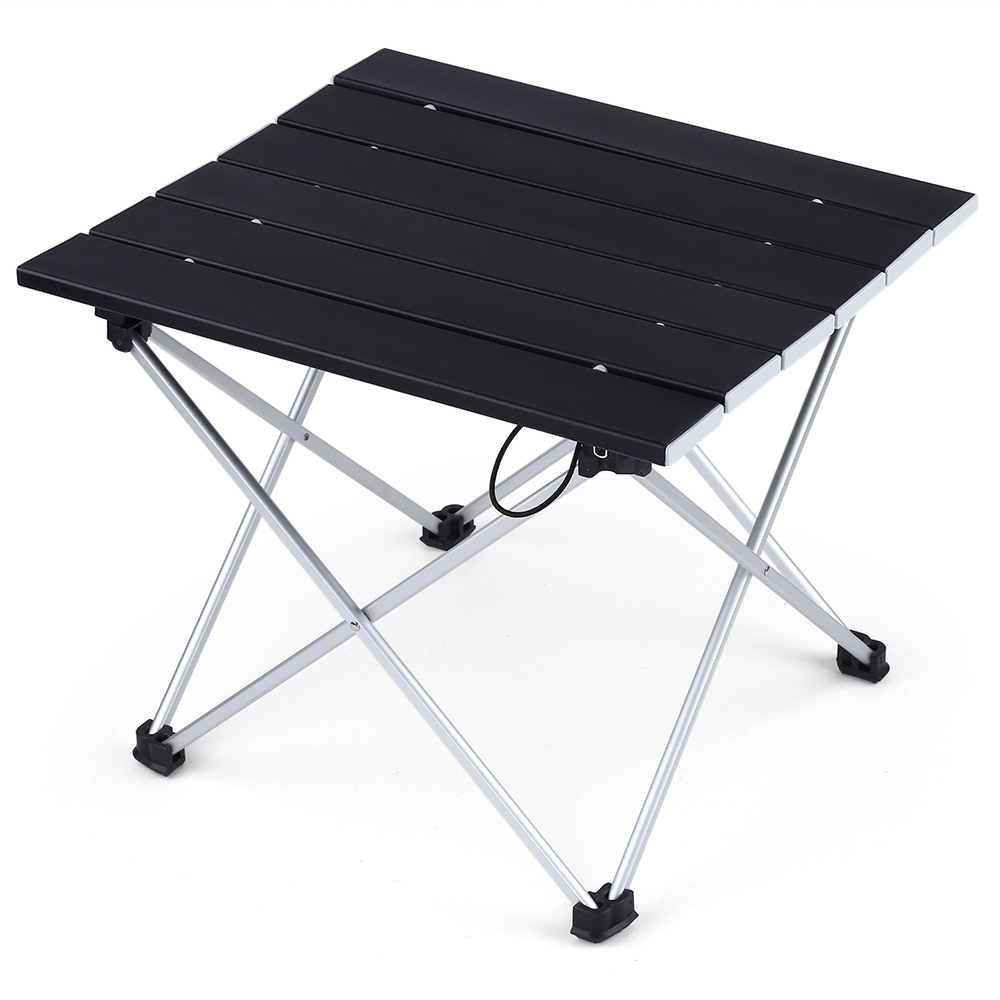 Portable Pliable mini Table Camping mobilier d'extérieur Ordinateur Lit Tables Pique-Nique alliage d'aluminium Ultra Lumière Pliage de voiture de Bureau