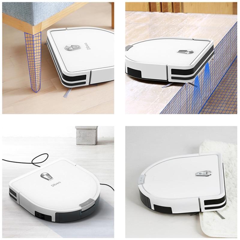 Dibea GT200 Smart Gyroskop Roboter Staubsauger Nass-und Trocken Einsatz Automatische Kehren Staub Sterilisieren Smart Geplant Waschen Wischen