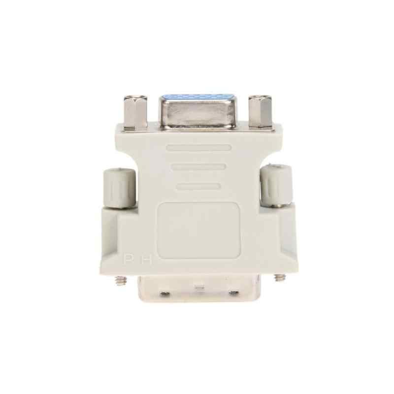 DVI 24 + 5 Male TO VGA Female Converter DVI TO VGA Adaptor Monitor VGA Audio & Video Kabel