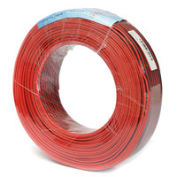CLAITE 100M Pure Copper Audio Wire Fine Diameter Core Red Black Speaker Cable Home Stereo HiFi Car Audio System