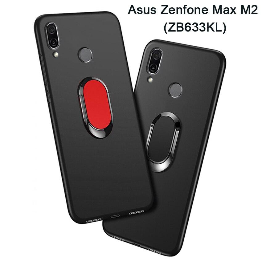 ZB633KL Cover For ASUS ZENFONE MAX M2 ZB633KL Case Luxury 6.3
