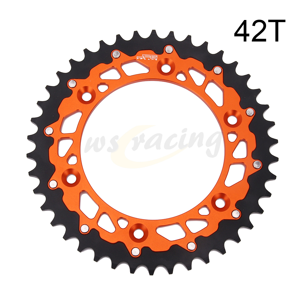 KTM XC150 200 250 300 EXC125 200 250 300 Black Renthal Rear Sprocket ALLOY 49