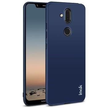 Étui pour Nokia 8.1 IMAK Jazz mince peau tactilité dur PC couverture arrière pour Nokia X7/Nokia 8.1 étui cadeau protecteur d