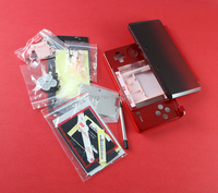15 sätze/los Für 3DS Shell Spiel shell fall ersatz volle gehäuse abdeckung fall mit Tasten kit für 3ds 6 farben