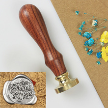 Retro Wooden Stamp Antique Metal Sealing Wax Stamps Envelope Card Wood Handle Wedding Invitations Craft Seal Stamp Post Gifts 1x wax seal stamp retro wood classic sealing wax seal stamp decorative rose tree of life wedding invitation antique stamp