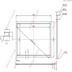 Xintai Touch FY 40 дюймов 10 сенсорных точек 16:9 соотношение ИК сенсорная рамка панель Plug & Play (без стекла)