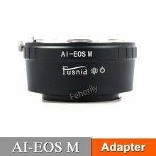все цены на AI-EOS M Adapter for  AI Lens to  EOS M EF-M M5 M6 Mirrorless Camera онлайн