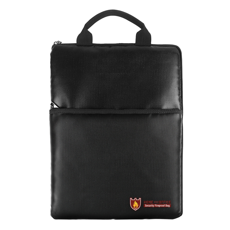 8f3ba9793a6 2018 New Fire Resistant Waterproof Safe Bag Briefcase for Important  Documents