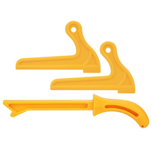 3Pcs Push Stick 1Pc T1 2Pcs V-Type T2 Hand Protection Sawdust Wood Router Saw Blade Sticks Set For Carpentry