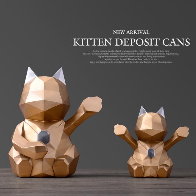 Cat coin bank