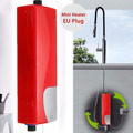 ABS 220 V 3000 W calentador de agua eléctrico Instant Tankless calentador de agua interior ducha cocina baño Agua Calefacción electrodomésticos