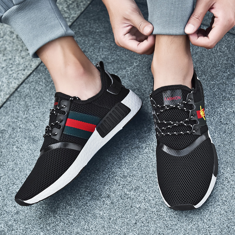 2019 new Running Shoes for Men Sneakers Women Outdoor Sport Shoes Breathable  mesh Shoes for Male and Female Walking Unisex shoes-in Running Shoes from  ... 4acc4028bb13