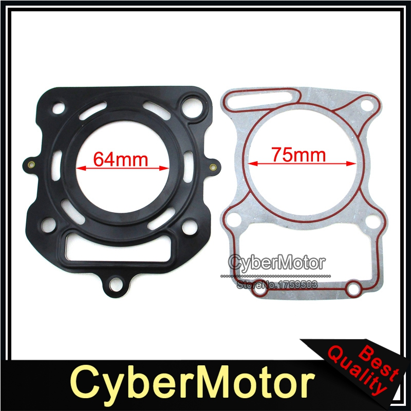 Cylinder Head Gaskets Set For Chinese <font><b>Lifan</b></font> CG200 <font><b>200cc</b></font> Water Cooled Engine Pit Dirt Bike ATV Quad Motorcycle image