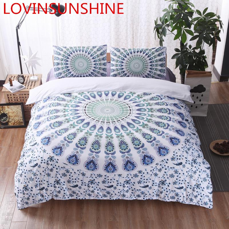 LOVINSUNSHINE mandala king size bedding set simple traditional style quilt cover set queen king duvet cover set cotton AX04#LOVINSUNSHINE mandala king size bedding set simple traditional style quilt cover set queen king duvet cover set cotton AX04#