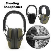 Outdoor Hunting Earmuff Soundproof Earmuffs Headwear Pick Up Noise Reduction Shooting Headset