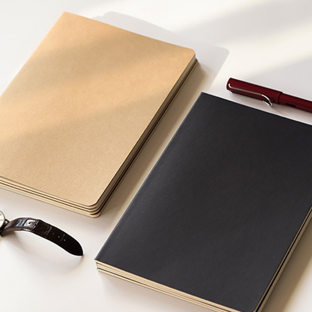New Creative A5 Kraft Paper Notebook Journal Diary Drawing Notepad For Students Kids Office School Supplies 30 Sheets 60 Pages