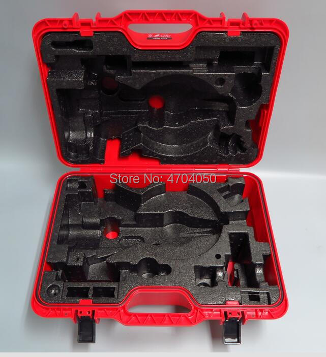 Brand New RED Hard Carrying CASE for LEICA TS02, TS06, TS06 plus, TS09 TOTAL STATION