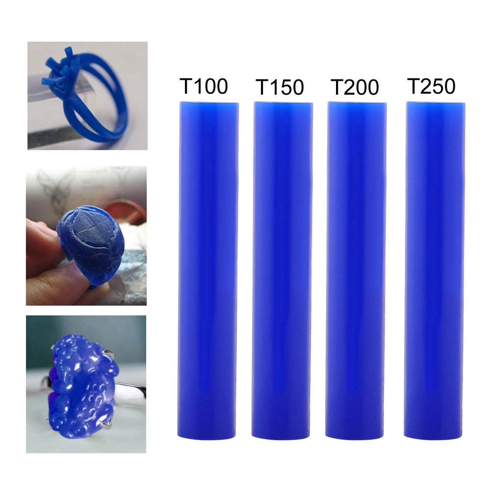 PHYHOO Jewelry Tool Ring Tool Green Carving Wax Tube Man Wax Ring Solid Carving Wax Tube T100