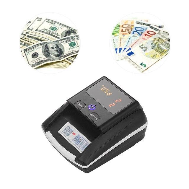 Aibecy Bill Counter Money Counter Money Detector Cash Money Bill Counter Banknote Counter with UV/MG/IR/DD Counterfeit Detector