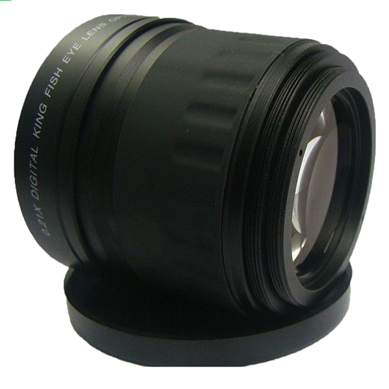 Image 3 - 52mm 0.21X Fisheye Wide Angle Macro Lens For Nikon Canon Digital DSLR Camera-in Camera Lens from Consumer Electronics