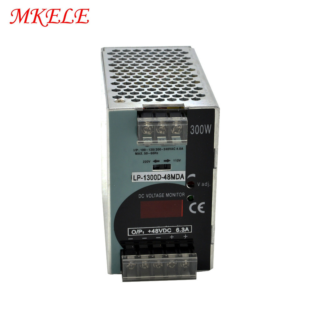 Din Rail Power Supply Switching 48V 300W LP-300-48  6.25A Din Rail Power Supply Switching 48V 300W LP-300-48  6.25A