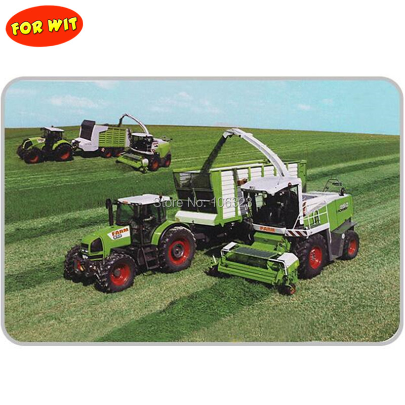 Sale Quantity for Wholesaler Trial Order,Farm Tractor with Play Part,Farmer Planting Cultivate Tool Model,Collector Toys Hobbies