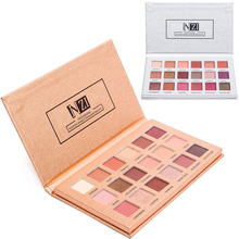 ICYCHEER 18 Colors Makeup Eye Shadow Palette  Eyeshadow Shimmer Matte Glitter Pigmented Smokey Nude