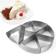 купить Cake Mold Baking Tool For Bread Pizza Making Stainless Steel Cake Mold Round Mousse Environmentally Friendly Quick Delivery по цене 602.46 рублей