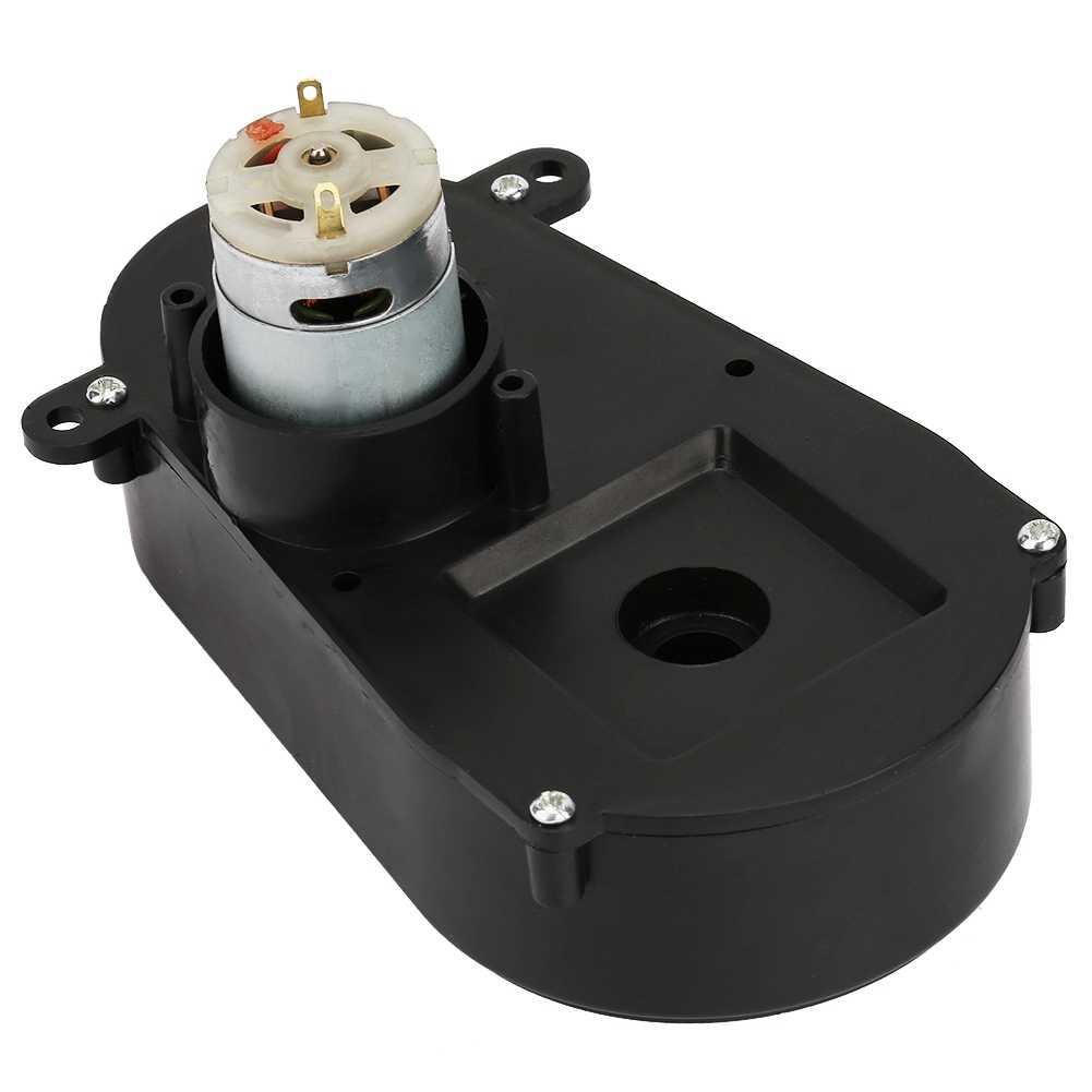 gear wheel RS380 Gear Box Electric Motor Steering Gearbox for Children Car Kids Toy reverse gearbox