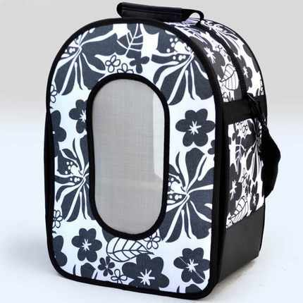 48x33x23cm Outdoor Travel Transport Bird backpack with Wooden Stands Parrot Cage Carriers Breathable Detachable Pet bag CW206