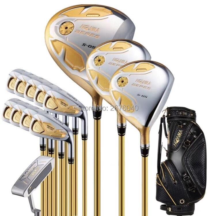 Golf Clubs Complete Set Honma Bere S-05 4 Star Golf Club Sets Driver+Fairway+Golf Iron+putter(14piece) NO Golf Bag Free Shipping