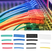 цена на 670pcs Mixed-colored Heat Shrink Tubing Wrap Cable Sleeve Shrinkable Tube