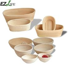 Various Proofing Proving Basket Fermentation Rattan Basket Country Bread Dough Brotform Proofing Proving Baskets  CHW0949