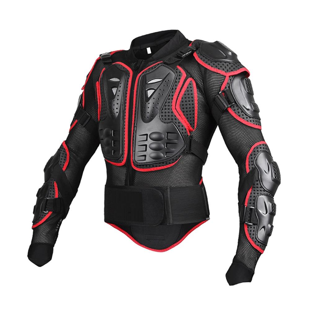 Unisexe Moto armure Protection Motocross vêtements veste protecteur Moto croix arrière armure de Protection - 5