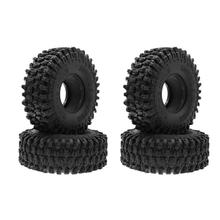 4Pcs/set 120mm 1.9inch Tires RC Rock Crawler Vehicle Tyre For SCX10 90046 D90 TRX-4 Car Truck