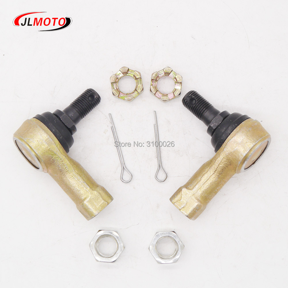 M12 Tie Rod End Kit Ball Joints Fit For Yamaha ATV YFM Bear Tracker 250 Big Bear 250 400 Grizzly Wolverine 350 TRX 300 FOURTRAX