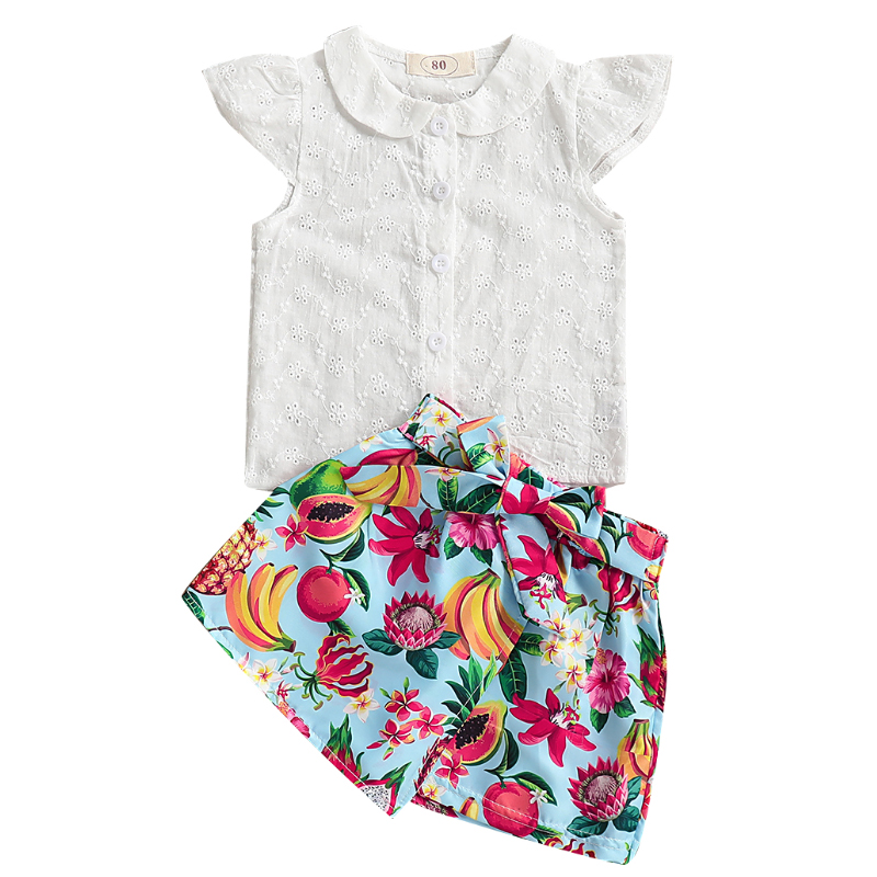 Toddler Infant Baby Girl Clothes Ruffle Sleeveless Summer Princess Boho Floral Sunflower Skirt with Headband Dress Set