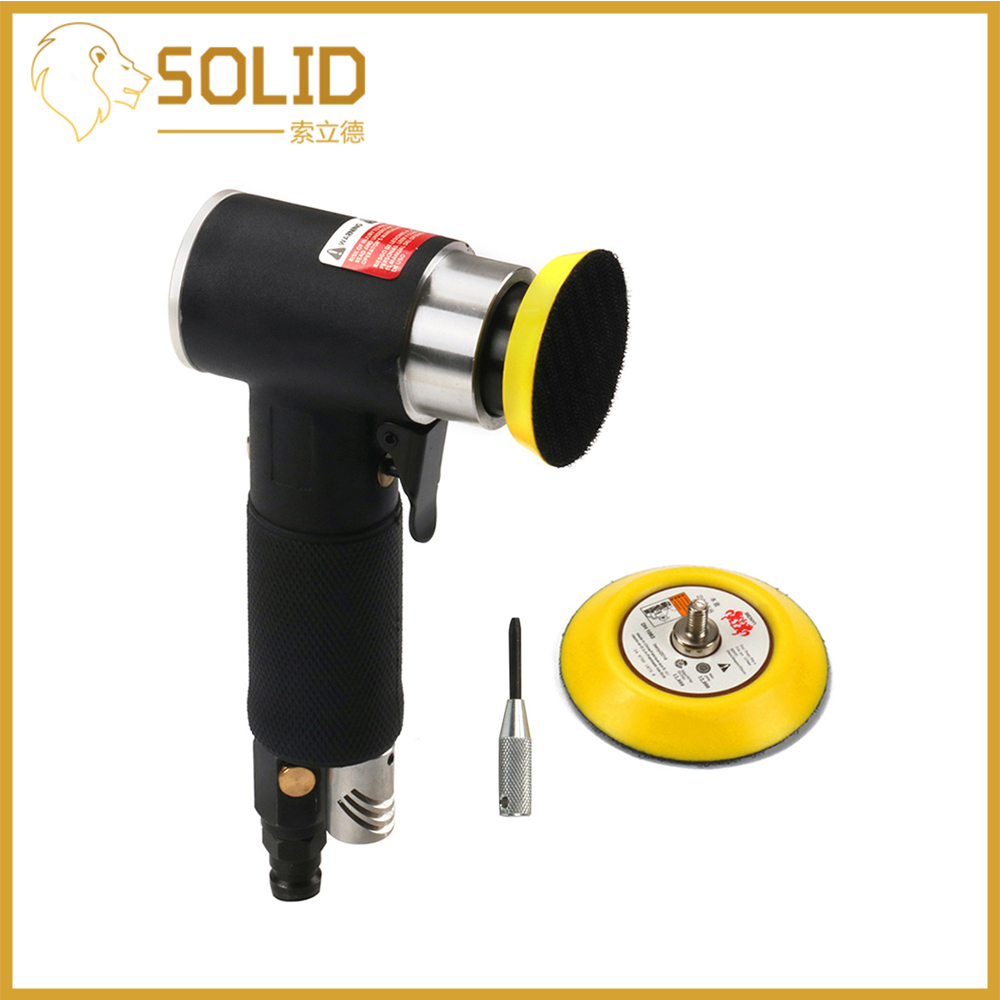 Air Sander Mini Orbital Pneumatic Air Tools 2inch 3inch Buffer Random Dual Action Orbital Polisher Machine For Car Auto Working