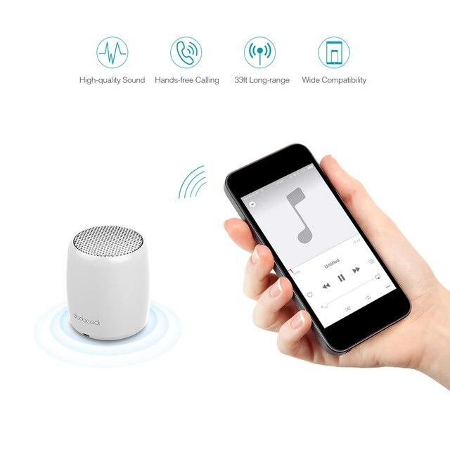 Caliente altavoz portátil altavoz inalámbrico con micrófono Selfie Disparador remoto de Control recargable Mini altavoz envío de la gota