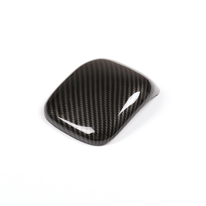 Image 2 - עבור מרצדס בנץ 2019 פחמן מרקם/רסיס רכב מרכז משענת Gear Shift פנל אחסון תיבת כיסוי
