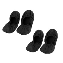 MagiDeal 2 Pair Black (XL) Bowling Shoe Covers for Household